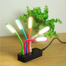 ĐÈN LED DẺO usb bàn chải