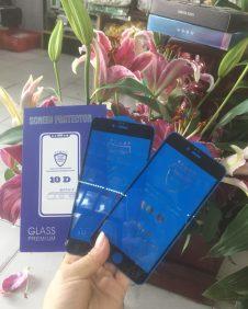 cường lực 10d xịn full box viền iphone đủ giòng ip6 =>ip x max s