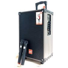 Loa Karaoke Bluetooth JBZ 107 tang 2 mic không dây