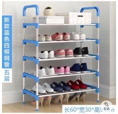 Kệ giày, dép inox 5 tầng (95*60*30cm)