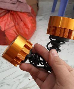 1 cập bóng đèn trợ sáng9 bóng led(hộp 2 cái)